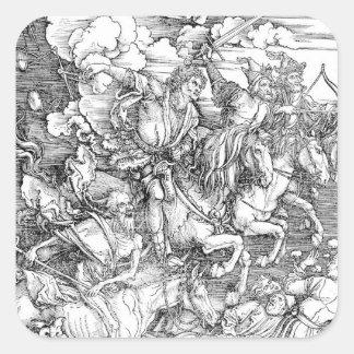 Albrecht Durer Sketch Square Sticker
