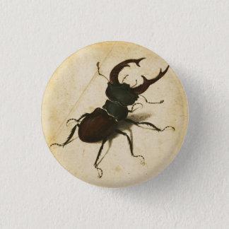 Albrecht Durer Stag Beetle Renaissance Vintage Art 3 Cm Round Badge