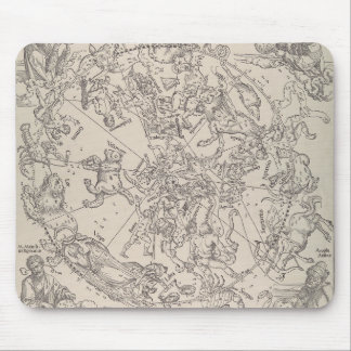 "Albrecht Durer - ""The Celestial Map - North"" Mouse Pad"