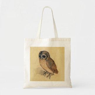 Albrecht Durer The Little Owl Budget Tote Bag