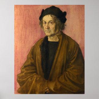 Albrecht Durer The Painters Father Poster