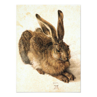 Albrecht Durer Young Hare Invitations