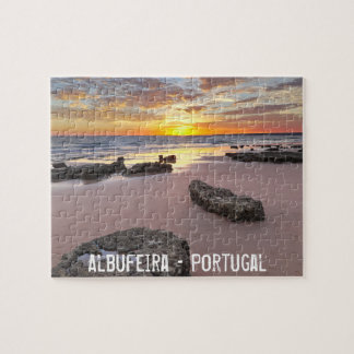Albufeira - Portugal. Summer vacations in Algarve Puzzles