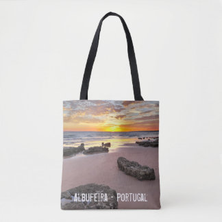 Albufeira - Portugal. Summer vacations in Algarve Tote Bag