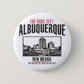 Albuquerque 6 Cm Round Badge