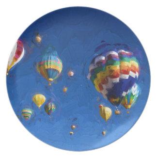 Albuquerque Balloon Festival Plate