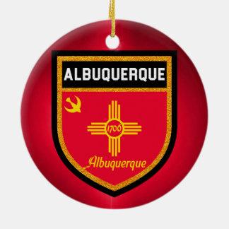 Albuquerque Flag Ceramic Ornament