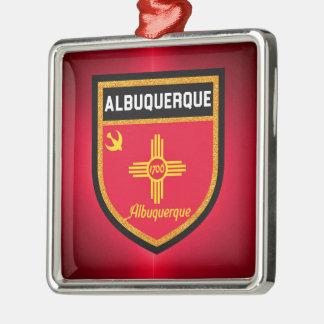 Albuquerque Flag Metal Ornament