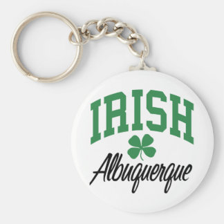 Albuquerque Irish Key Ring
