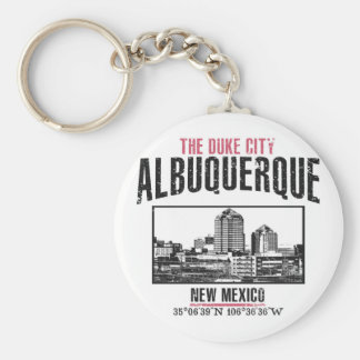 Albuquerque Key Ring