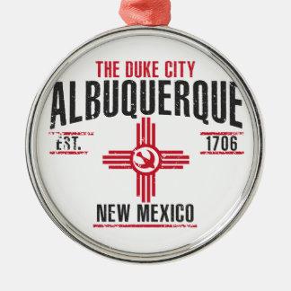 Albuquerque Metal Ornament