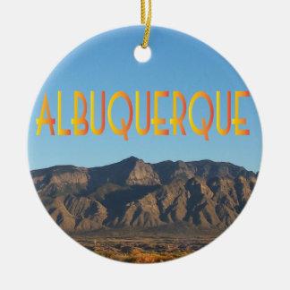 Albuquerque New Mexico Ceramic Ornament