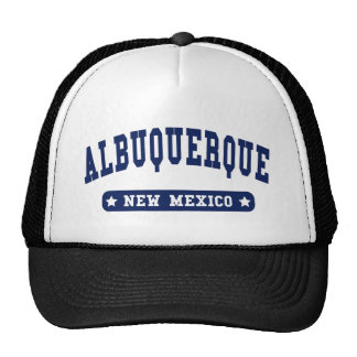 Albuquerque New Mexico College Style t shirts Cap