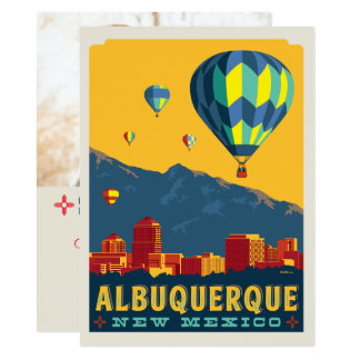 Albuquerque, New Mexico | Save the Date - Photo Card