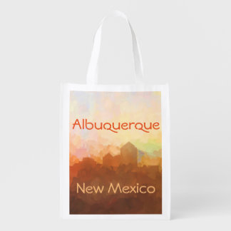 Albuquerque New Mexico Skyline IN CLOUDS