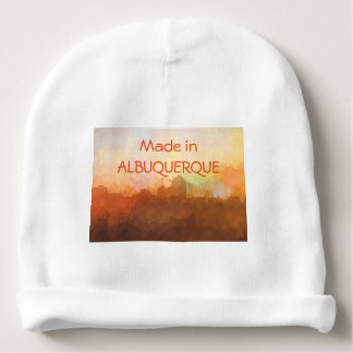 Albuquerque New Mexico Skyline IN CLOUDS Baby Beanie