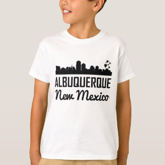 Albuquerque New Mexico Skyline T-Shirt