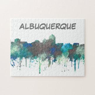 ALBUQUERQUE, NM SKYLINE - SG JUNGLE - Puzzle