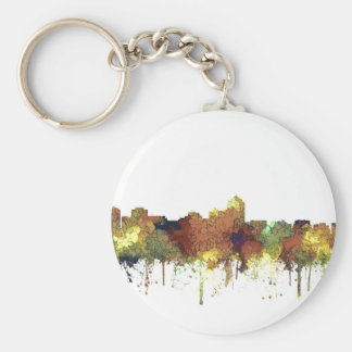 Albuquerque, NM Skyline - SG - Safari Buff Key Ring