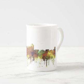 Albuquerque, NM Skyline - SG - Safari Buff Tea Cup