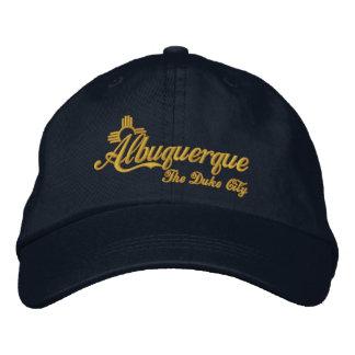Albuquerque, The Duke City Embroidered Hat