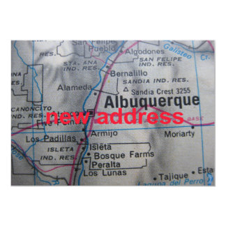 Albuquerque We've Moved New Address Announcement