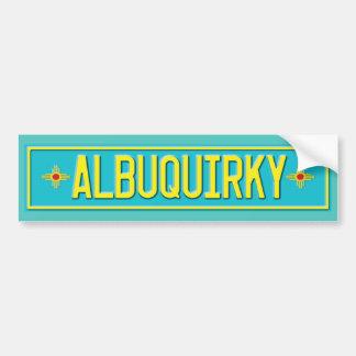 Albuquirky Bumper Sticker