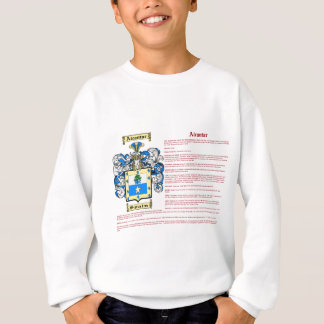 Alcantar (meaning) sweatshirt