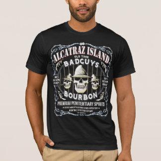 ALCATRAZ_BAD_GUYS_WHISKEY_LABEL T-Shirt