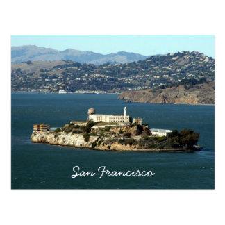 alcatraz bay postcards