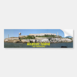Alcatraz Bumpersticker Bumper Sticker