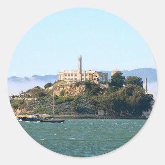 Alcatraz Classic Round Sticker
