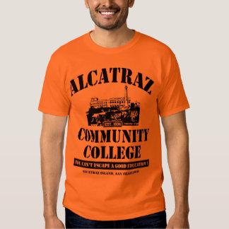ALCATRAZ COMMUNITY COLLEGE #3 TEES