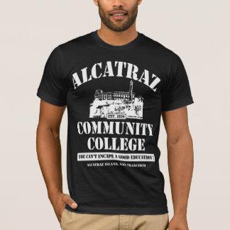 ALCATRAZ COMMUNITY COLLEGE #3 WHT. T-Shirt