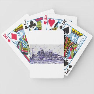 ALCATRAZ ISLAND BICYCLE PLAYING CARDS