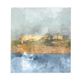 Alcatraz Island in San Francisco California Notepads