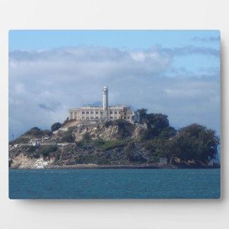 Alcatraz Island Plaque