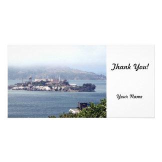 Alcatraz Personalised Photo Card