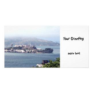 Alcatraz Personalized Photo Card