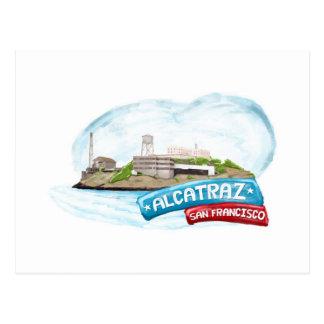 Alcatraz Prison San Francisco Postcard