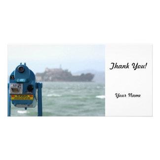 Alcatraz View Picture Card