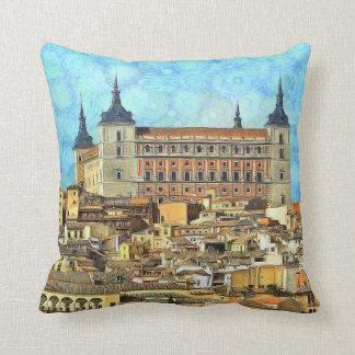 Alcazar Castle in Toledo. Cushion