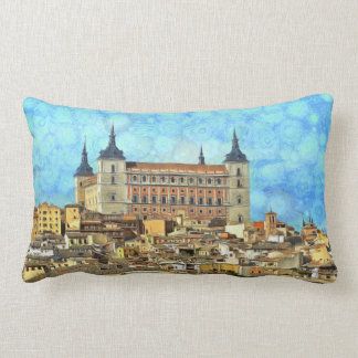 Alcazar Castle in Toledo. Lumbar Cushion