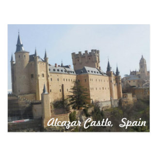 Alcazar Castle of Segovia Postcard