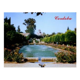 Alcazar - Cordoba Postcard