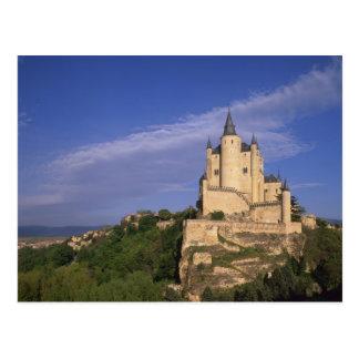 Alcazar, Segovia, Castile Leon, Spain Postcard