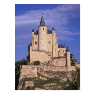 Alcazar, Segovia, Castile Leon, Spain, Unesco Postcard
