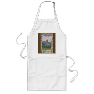 Alchemical Antique Sun Face Apron