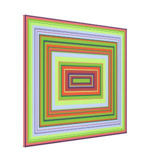 Alchemical Colour Pattern Canvas Print