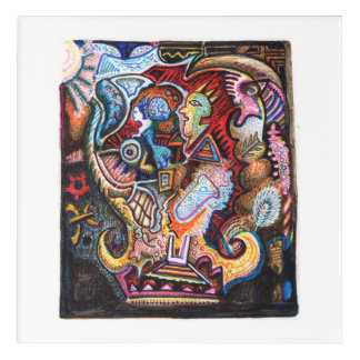 Alchemical Pursuit Acrylic Wall Art